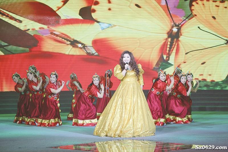 族》   歌曲《我爱你中国》   现代京剧《迎来春色换人间》   音乐快板《